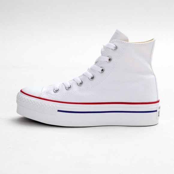637275363d9281 Converse Shoes - Converse Chuck Taylor AllStar Platform HiTop White